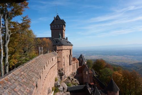 Haut-Koenigsbourg - Orschwiller -Frankreich