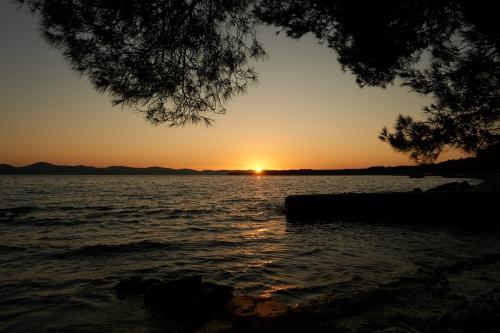 Sonnenuntergang Kroatien, Pakostane